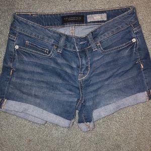 new aeropostale jean shorts